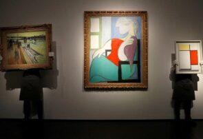 نمایش آثار هنری در لندن پیش از فصل فروش بهاری حراجی کریستی نیویورک