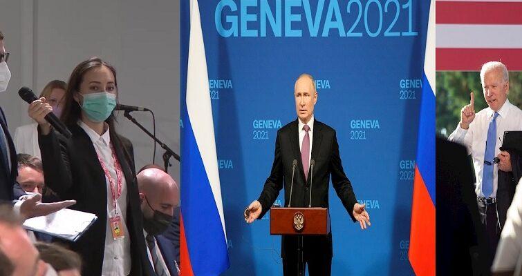 سئوال و جواب خبرنگار و پوتین درباره اینکه چه کسی قاتل است؟