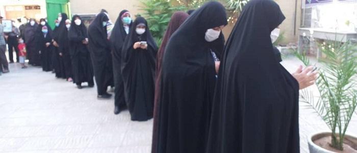 حماسهای دیگر با حضور باشکوه گلستانیها پای صندوقهای رای