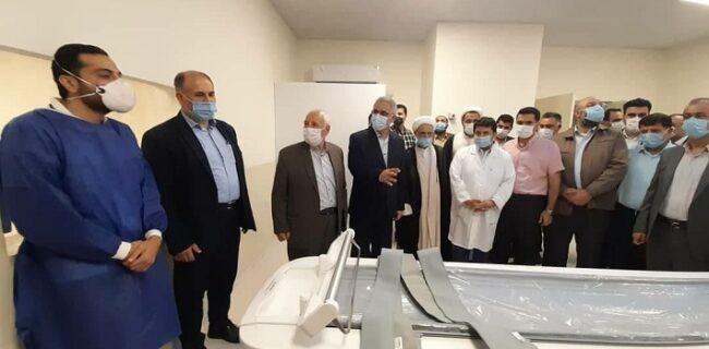 افتتاح و بهره برداری از دستگاه سی تی اسکن در بیمارستان قلب کردکوی