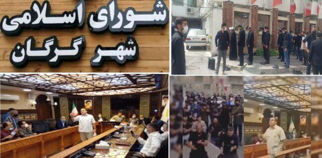 همه چیز با آوازخوانی یک هنرمند در صحن شورای شهر گرگان آغاز شد